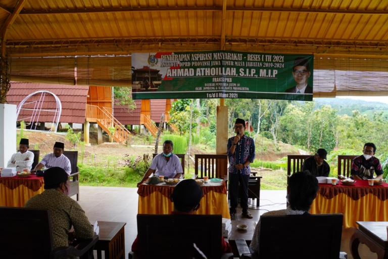 Untuk Menarik Wisatawan, Mas Atho' Pilih Wisata Agropolis Wonosalam Tempat Reses