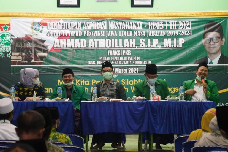 Sapa Konstituen, Ahmad Athoillah Sosialisasi Perda Pesantren