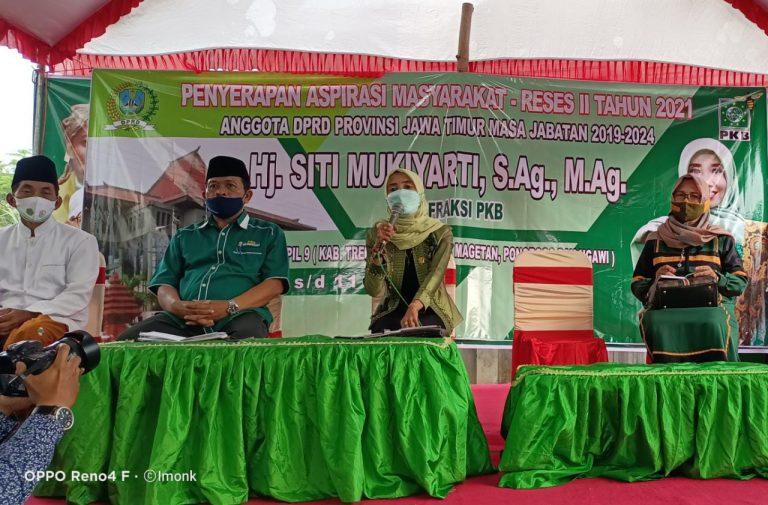 Baru Dilantik, Siti Mukiyarti Tancap Gas Serap Aspirasi Warga Nahdliyin