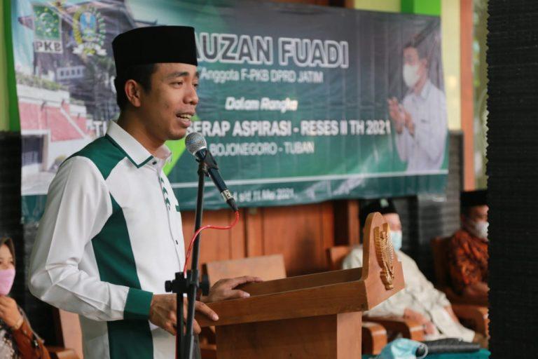 Masa Reses Terbatas, Ketua Fraksi PKB Jatim Minta Konstituen Sampaikan Apirasi Melalui Media Sosial