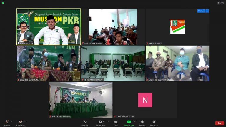 Bangun Soliditas Partai, PKB Sidoarjo Gelar Musran di 5 Kecamatan Sekaligus