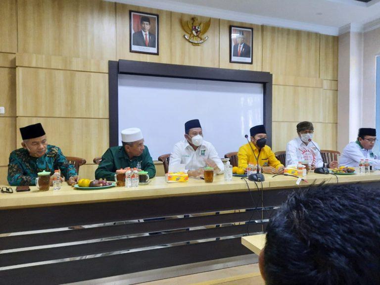 Terima Kunjungan DPD Golkar, Abah Subandi: Sinergitas Antar Parpol Harus Ditingkatkan