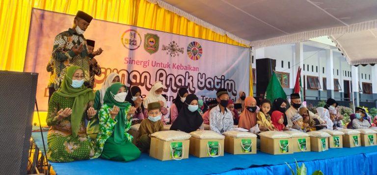 Siti Mukiyarti RoadShow Santuni Anak Yatim di Trenggalek dan Ponorogo