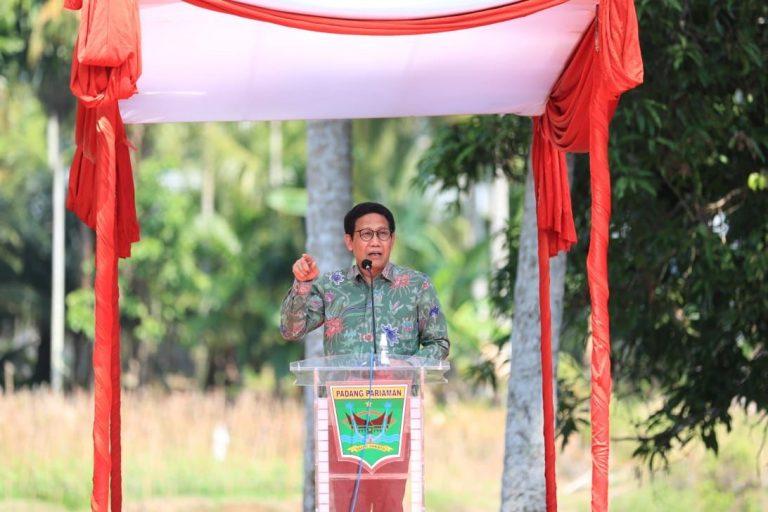 Kunjungi Padang Pariaman, Gus Halim Paparkan Konsep Pemulihan Ekonomi Level Desa