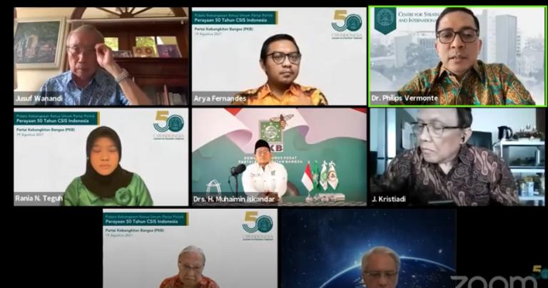 Gus Muhaimin Paparkan Keberhasilan PKB Kenalkan Islam Rahmah Dihadapan Pemimpin Eropa