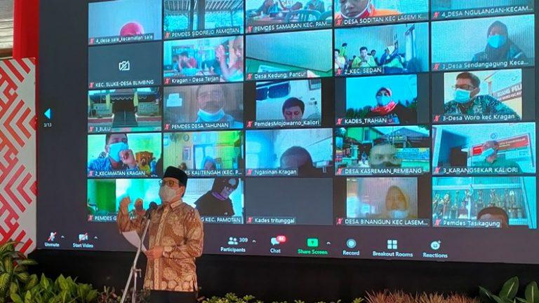 Terima Keluhan Dari Kades di Rembang, Gus Halim: Akan Saya Bawa ke Rapat Kabinet