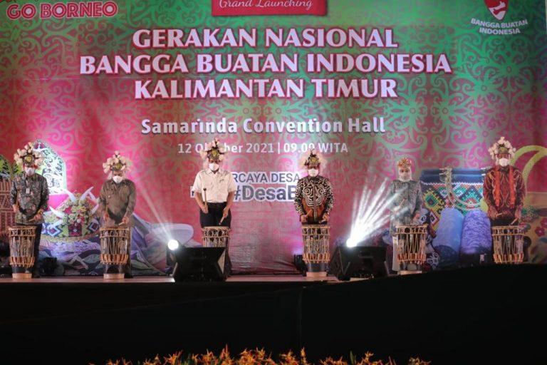 Gernas BBI Kaltim 'Go Borneo' Diluncurkan, Gus Halim: Selaras dengan Tujuan SDGs Desa