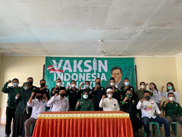 DPW PKB Jatim Roadshow Vaksinasi Covid-19 ke Beberapa Daerah di Jatim