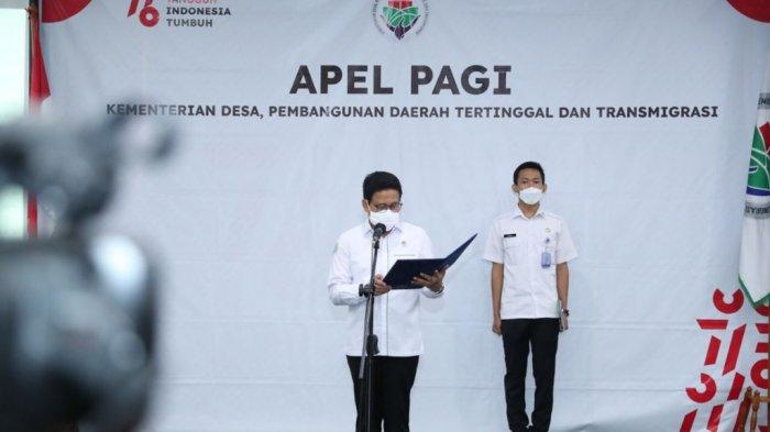 Mendes PDTT Dorong Warga Desa Terima Vaksin Dosis Kedua